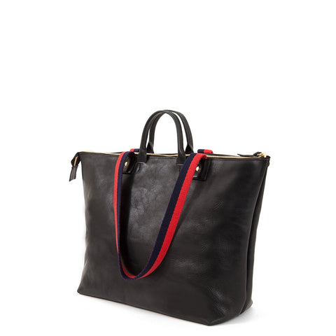 Le Zip Sac in Black Rustic