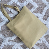 Tote Bag in Light Mustard