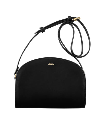 Half-moon bag in Black