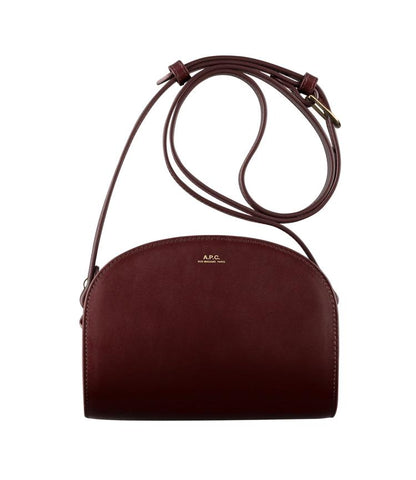 Half-moon Bag in Burgundy