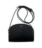 Mini Half-moon Bag in Black