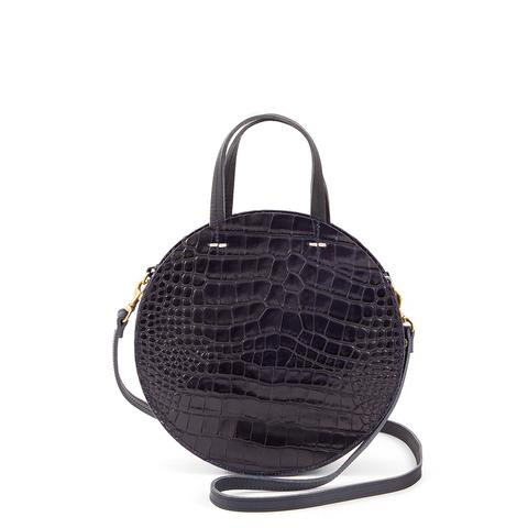 Petite Alistair Tote in Midnight Croco
