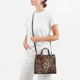 Petit Simple Tote Leopard