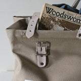 Canvas Utility Bag in Khaki