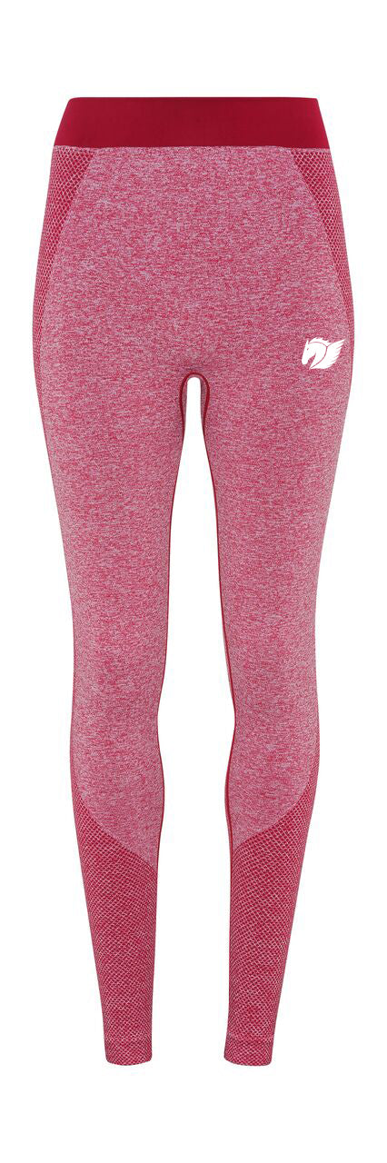 Seamless Multi-Sport Sculpt Leggings - Burgundy