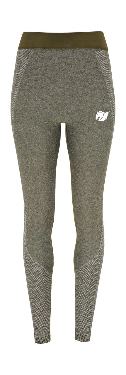 Seamless Multi-Sport Sculpt Leggings - Olive