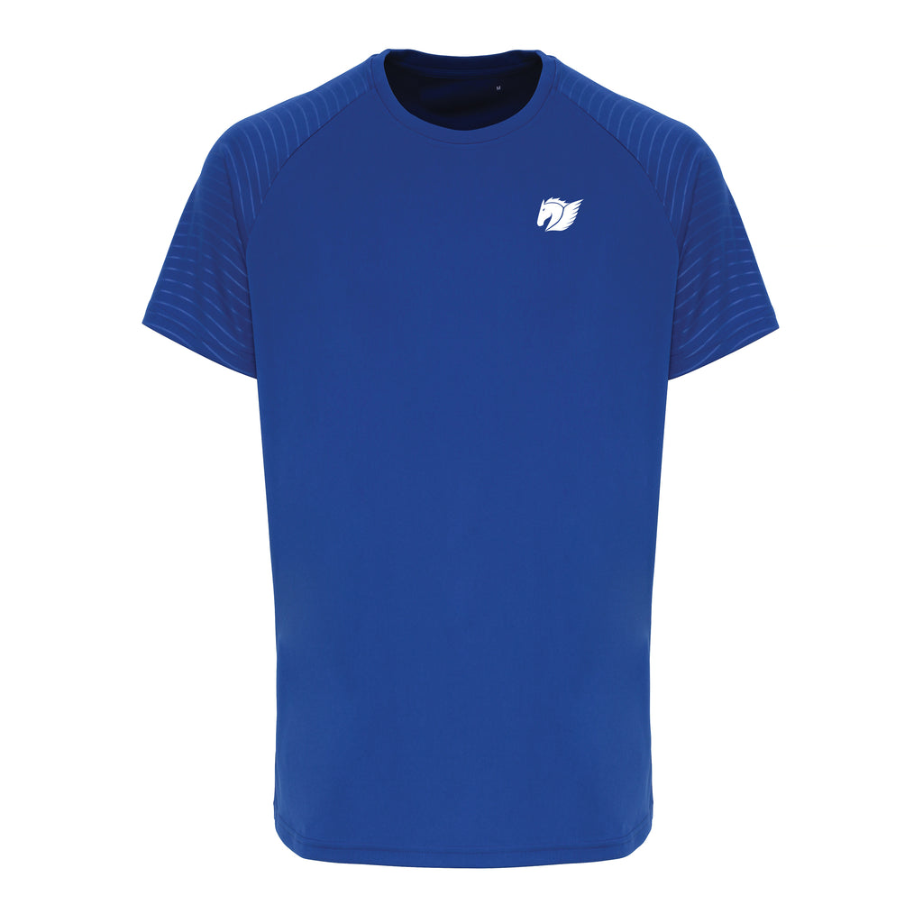 Embossed Sleeve Training Tee - Royal