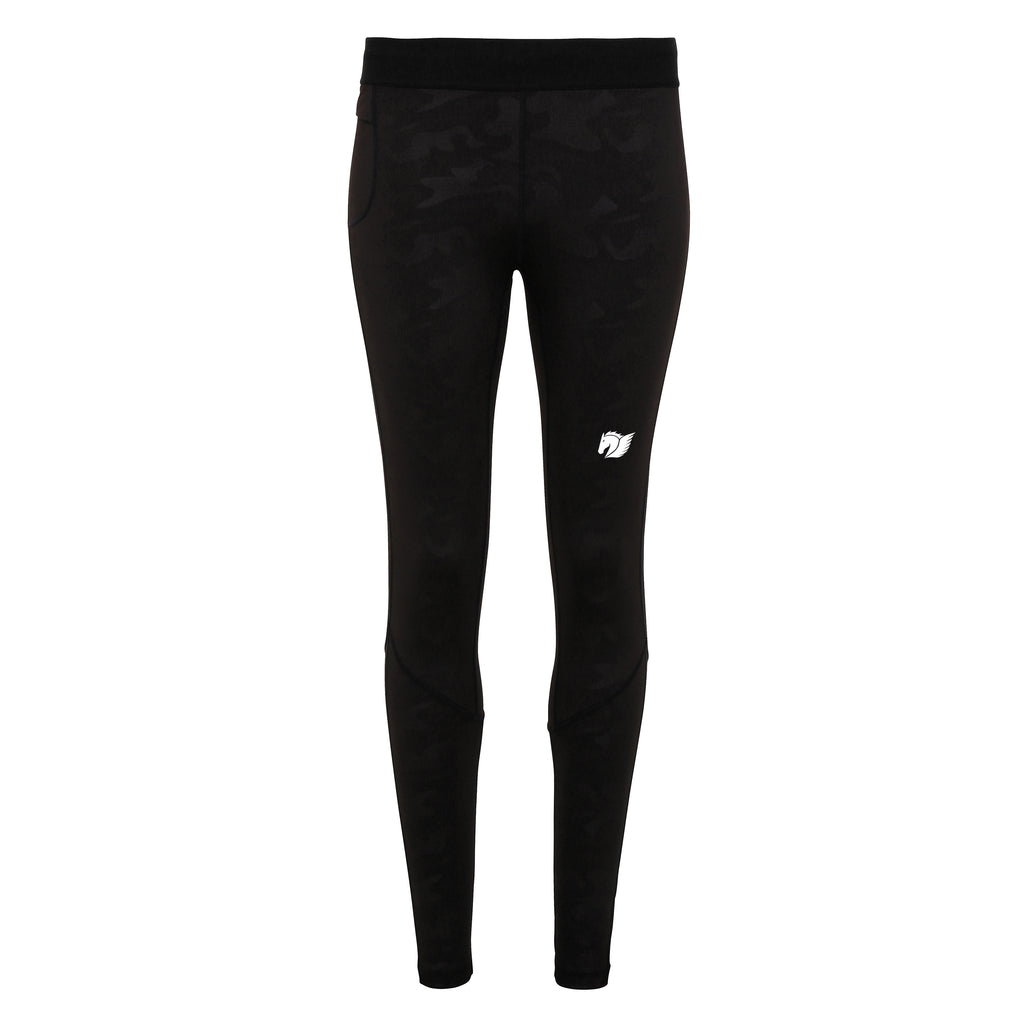 Performance Training Leggings - Black Camo