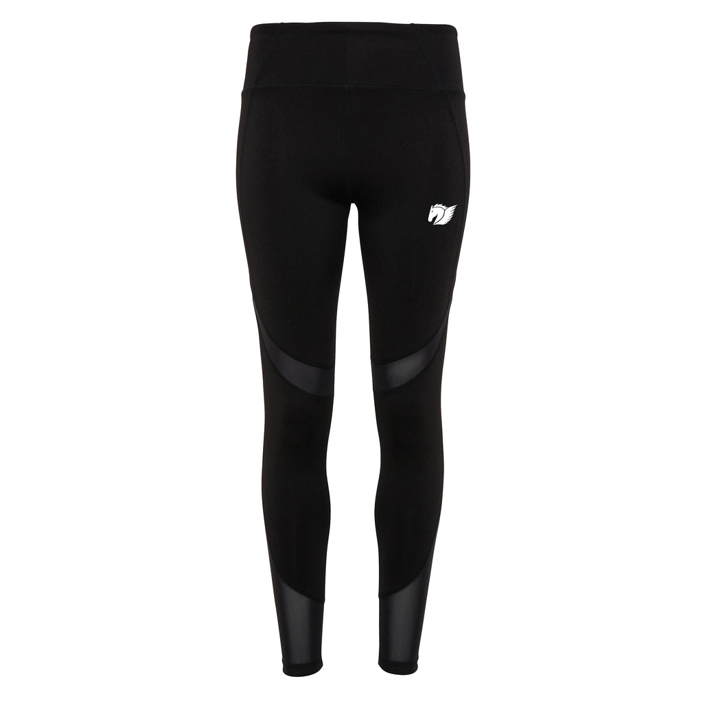 Mesh Tech Leggings - Black