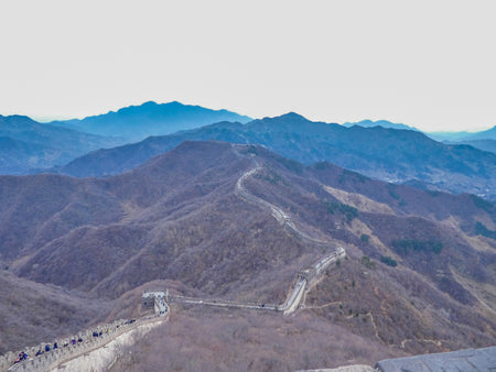 Visiting The Great Wall of China in Winter