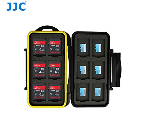 JJC 'MC-SDMSD24' Memory Card Case - 24SD Cards & 24 MSD Cards-SD Card Case-JJC-PanzerCases