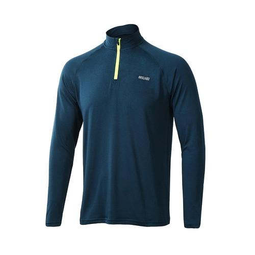 Arsuxeo Men's Long Sleeve Running Top-Running Jersey-Arsuxeo-PanzerCases