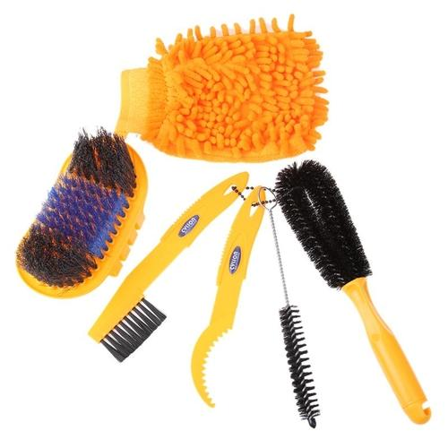 Bike Deep Clean Brush Set-Bike Cleaning-Cylion-PanzerCases