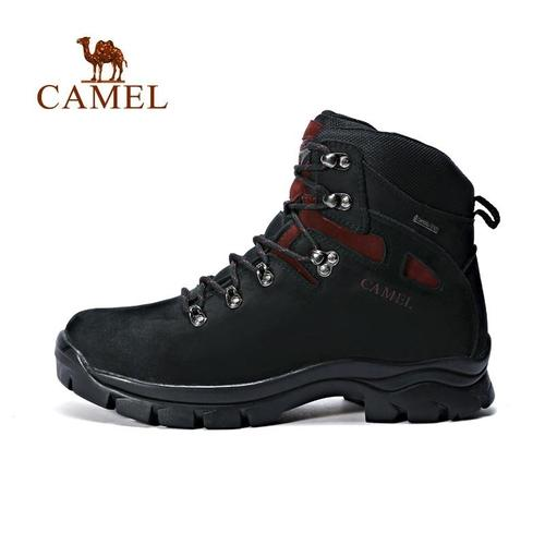 Camel Sports Men's Leather Mountain Boots-Hiking Boots-Camel Outdoor-PanzerCases