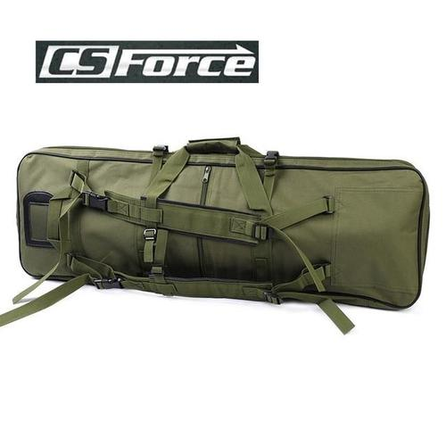 CS Force 85cm Heavy Duty Dual Rifle Backpack-Soft Cases-CS Force-Olive Green-PanzerCases