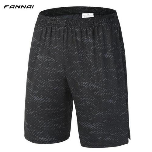 Fannai Men's Lightweight Shorts-Compression Shorts-Fannai-Charcoal Grey-XL-PanzerCases