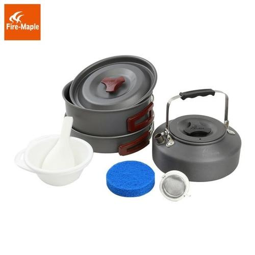 Fire Maple FMC-204 2-3 Persons Aluminium Cookware Set-Cookware-Fire Maple-PanzerCases