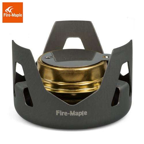 Fire Maple FMS-122 'Aurora' Ultralight Alcohol Camping Stove-Stoves-Fire Maple-Grey-PanzerCases