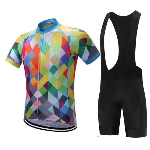 Fualrny Bevery Short Sleeve Cycling Set-Cycle Sets-Fualrny-PanzerCases