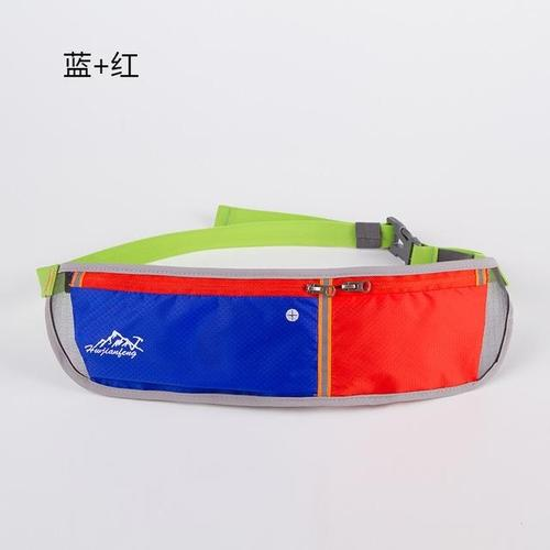 Huwai Lightweight Running Waist Bag-Running Waist Bag-Huwai-Blue & Red-Other-PanzerCases