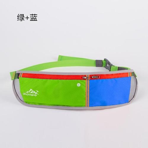 Huwai Lightweight Running Waist Bag-Running Waist Bag-Huwai-Green & Blue-Other-PanzerCases