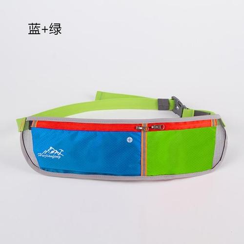 Huwai Lightweight Running Waist Bag-Running Waist Bag-Huwai-Blue & Green-Other-PanzerCases