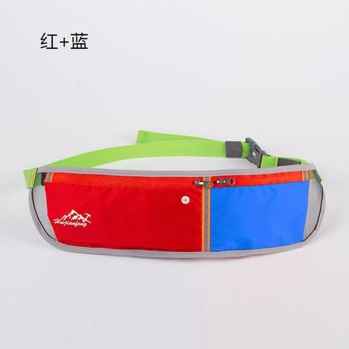 Huwai Lightweight Running Waist Bag-Running Waist Bag-Huwai-Red & Blue-Other-PanzerCases