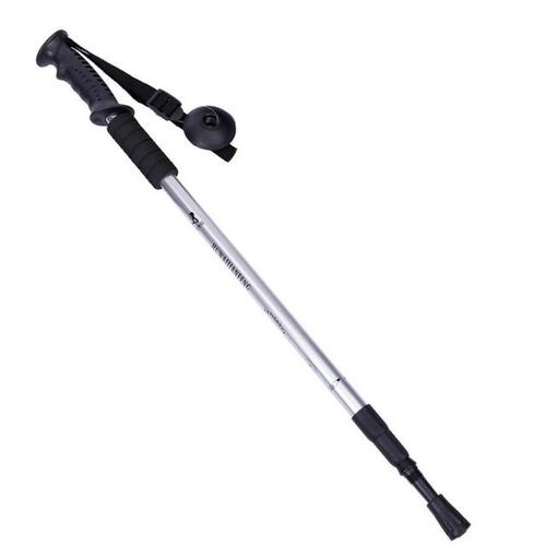 Lightweight 110cm Telescopic Walking Poles-Walking Poles-Halin-Silver-PanzerCases