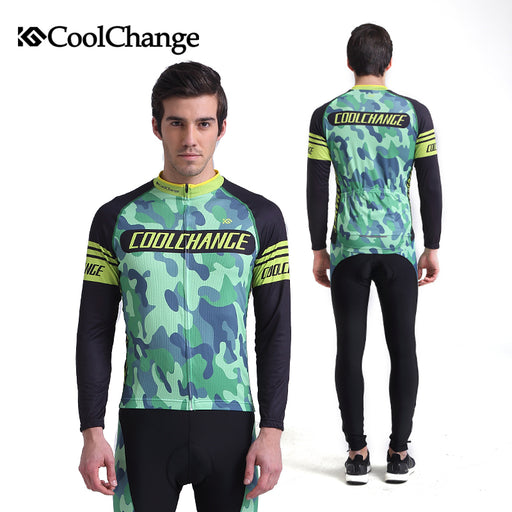 CoolChange 46025-46035 Men's Long Sleeve Cycle Set-Cycle Sets-CoolChange-PanzerCases