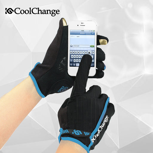 CoolChange Model '91012' Touch Screen Cycling Gloves-Bike Gloves-CoolChange-PanzerCases