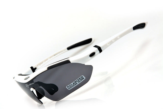 ROCKBROS '10001' Polarised Cycling Glasses-Sunglasses-Rockbros-White-China-PanzerCases