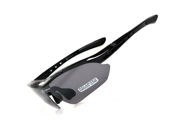 ROCKBROS '10001' Polarised Cycling Glasses-Sunglasses-Rockbros-Black-China-PanzerCases