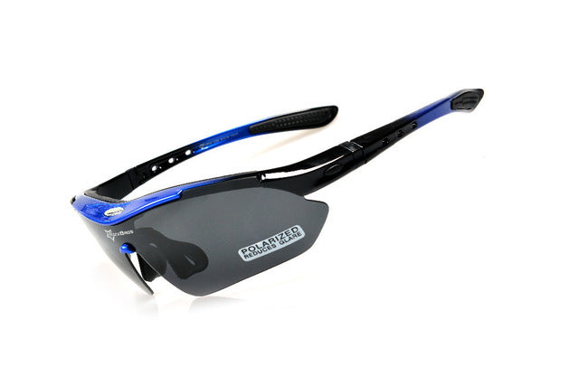 ROCKBROS '10001' Polarised Cycling Glasses-Sunglasses-Rockbros-medium blue-China-PanzerCases