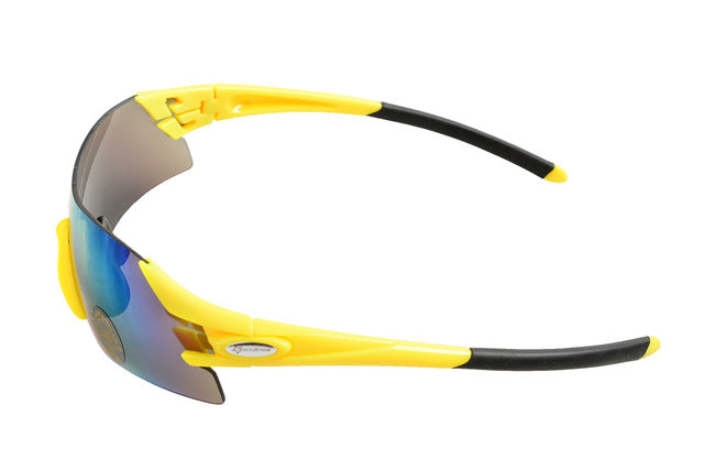 ROCKBROS '10010' Polarised Cycling Glasses-Sunglasses-Rockbros-Yellow-Universal-PanzerCases