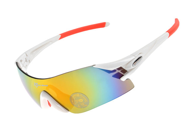 ROCKBROS '10010' Polarised Cycling Glasses-Sunglasses-Rockbros-White-Universal-PanzerCases