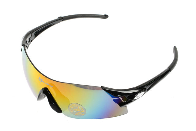 ROCKBROS '10010' Polarised Cycling Glasses-Sunglasses-Rockbros-Black-Universal-PanzerCases