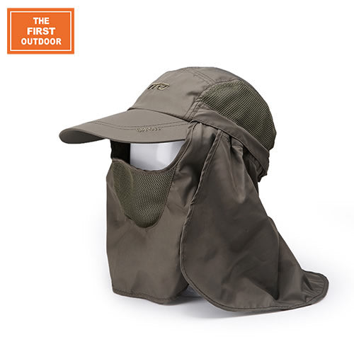 TFO 310503 Lightweight Sun Hat-Outdoor Hat-The First Outdoors-Army Green-M-PanzerCases