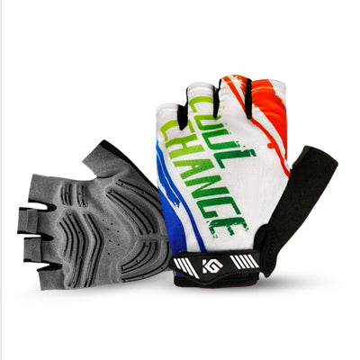 CoolChange Model 91035 Half Finger Cycling Gloves-Bike Gloves-CoolChange-9103501-L-PanzerCases