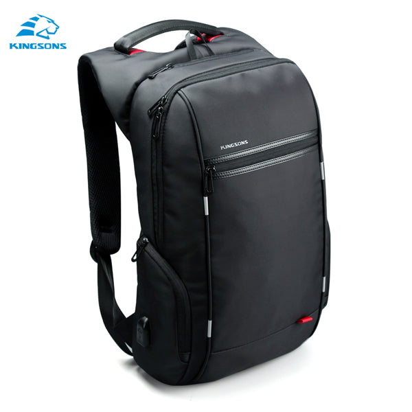 Kingsons 'City Elite' Laptop Backpack-Camera Bags-Kingstons-Model B Black-China-17 Inch-PanzerCases