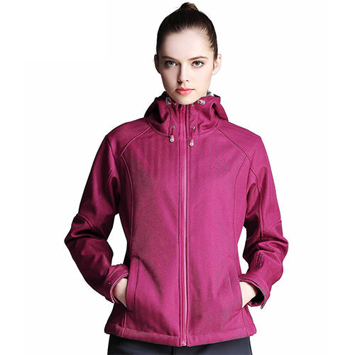 TFO 1523481 Women's Ultralight Hardshell Jacket-Outdoor Jacket-The First Outdoors-Red-L-PanzerCases
