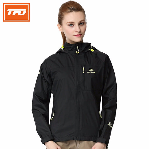 TFO 3658122 Women's Ultralight Hardshell Jacket-Outdoor Jacket-The First Outdoors-PanzerCases