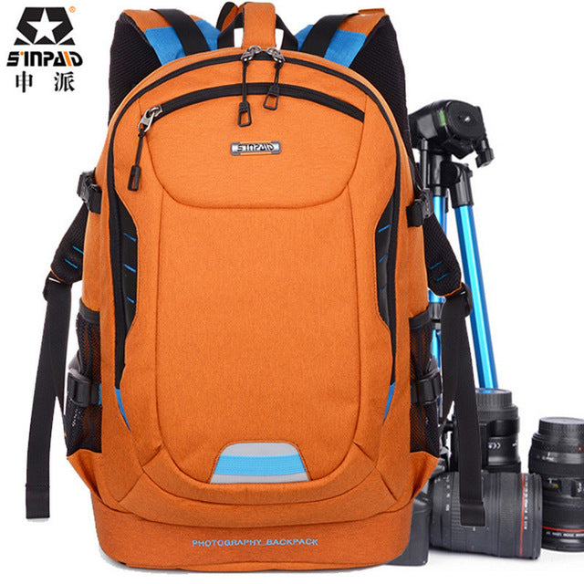 Sinpaid 'Travel' Professional Photography Rucksack-Camera Bags-Sinpaid-PanzerCases