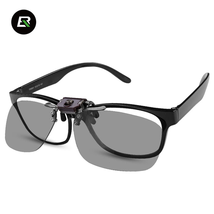 ROCKBROS 'JP100' Polarised Clip-on Cycle Glasses-Sunglasses-Rockbros-PanzerCases