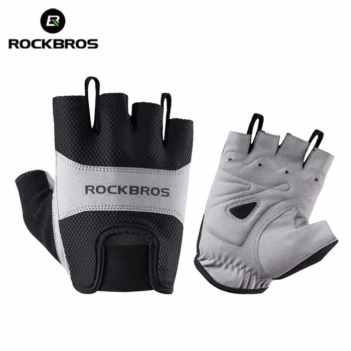 ROCKBROS Model S108 Half-Finger Cycle Glove-Bike Gloves-RockBros-PanzerCases