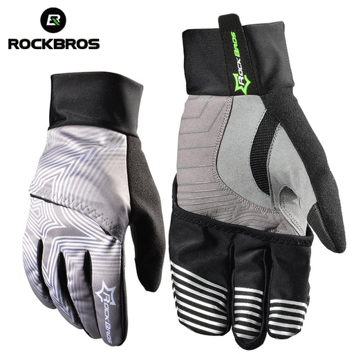ROCKBROS Model S075 Windproof Winter Cycling Glove-Bike Gloves-RockBros-PanzerCases