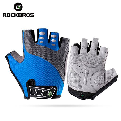 ROCKBROS Model S037 Men's Half Finger Cycle Glove-Bike Gloves-RockBros-PanzerCases