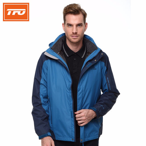 TFO 2994912 Men's 3-in-1 Hardshell Jacket-Outdoor Jacket-The First Outdoors-PanzerCases