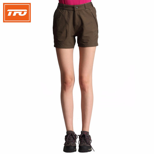 TFO Hiking Shorts Women Brand Quick Dry Summer Breathable Outdoor Shorts Camping Shorts Solid Pocket Sport-Outdoor Shorts-The First Outdoors-PanzerCases