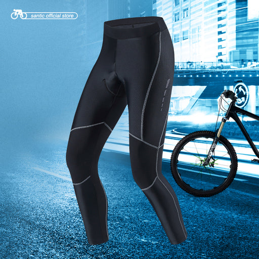 Santic Teknik Men's Waist Tights-Cycle Tights-Santic-PanzerCases