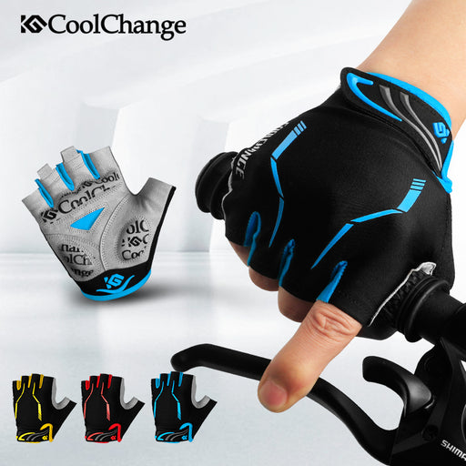 CoolChange Model 91036/91028 Half Finger Cycling Gloves-Bike Gloves-CoolChange-PanzerCases